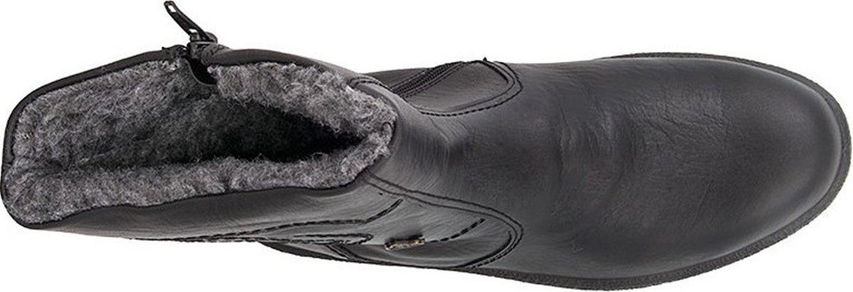 Boxer 01535 Black ανδρικό μποτάκι μαύρο