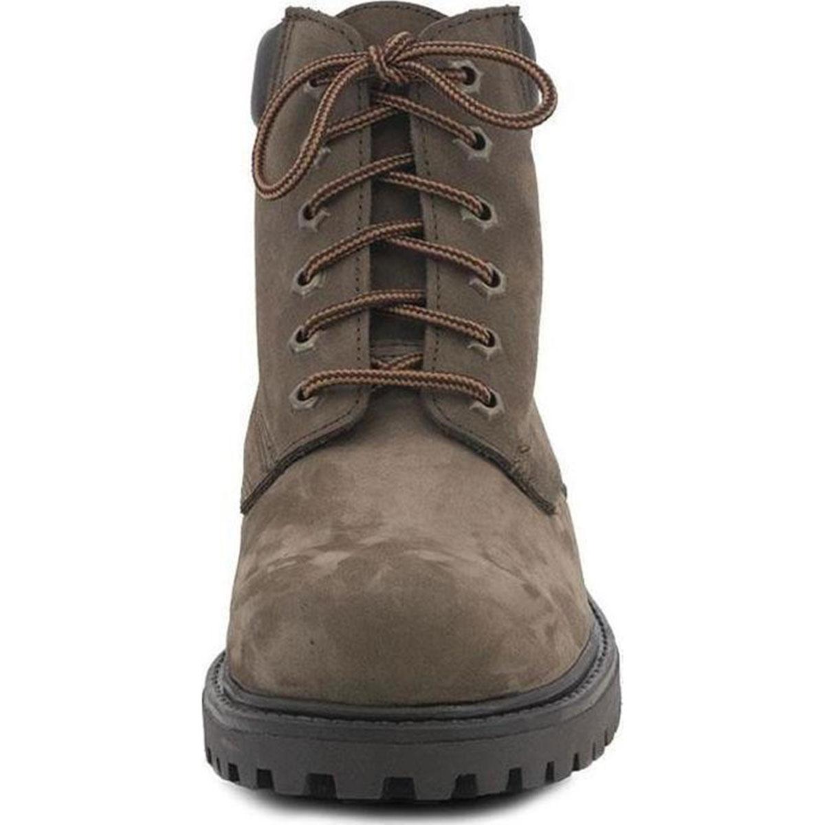 Ανδρικά δετά ορειβατικά μποτάκια BOXER 03204-33-014 πούρο/καφέ