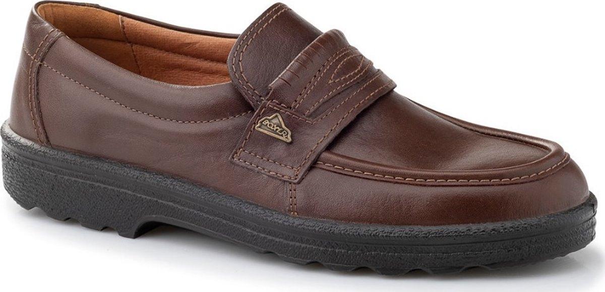 Boxer 01529-18-114 Brown Ανδρικά παπούτσια casual Καφέ