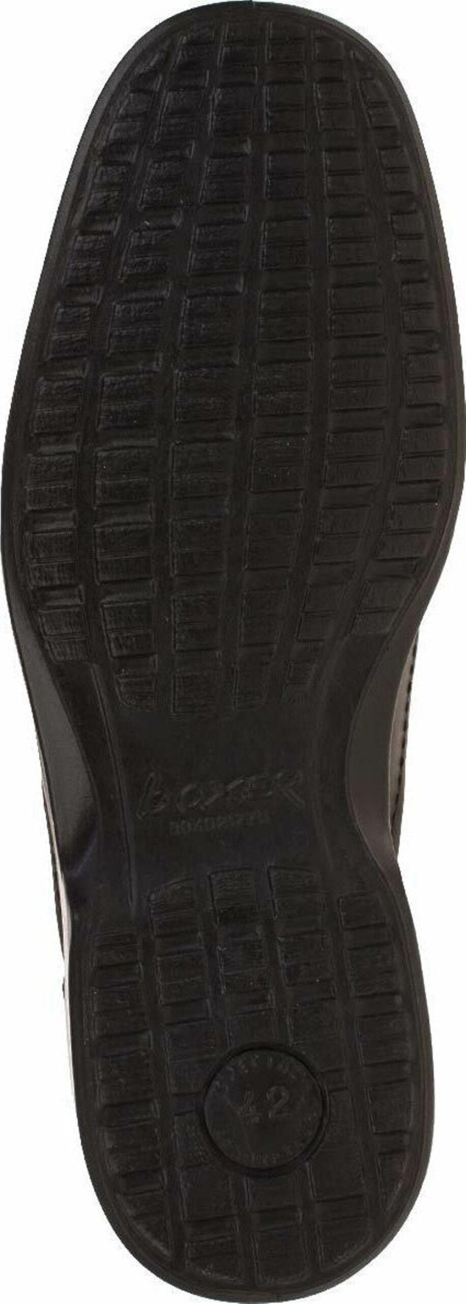 Ανδρικό δερμάτινο Μαύρο Παντοφλέ BOXER original 13771-14-111