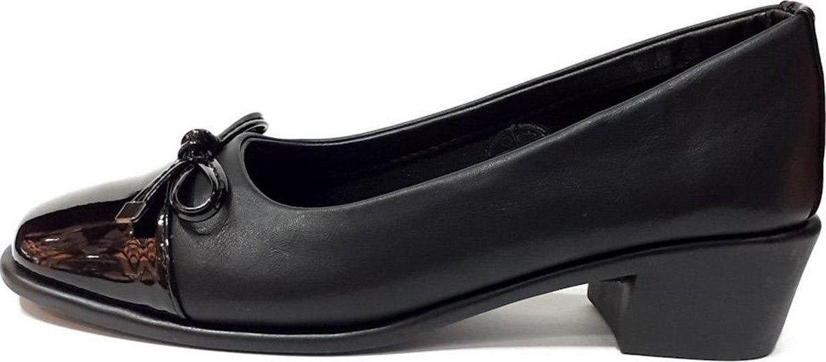 Γυναικεία Γόβα Με Φιόγκο PAREX 10616025.B Μαύρο