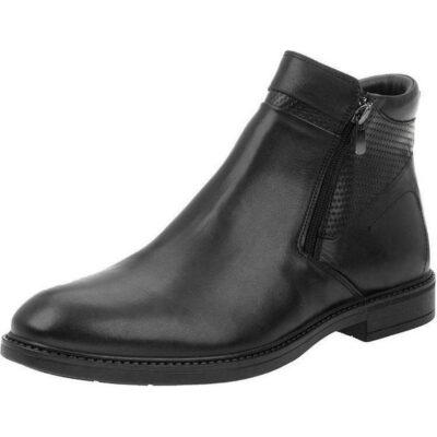 Ανδρικό μποτάκι casual BOXER 19031-10-011 Μαύρο