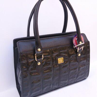 Γυναικεία τσάντα χεριού STUDIO MEL μαύρο χρώμα 5103