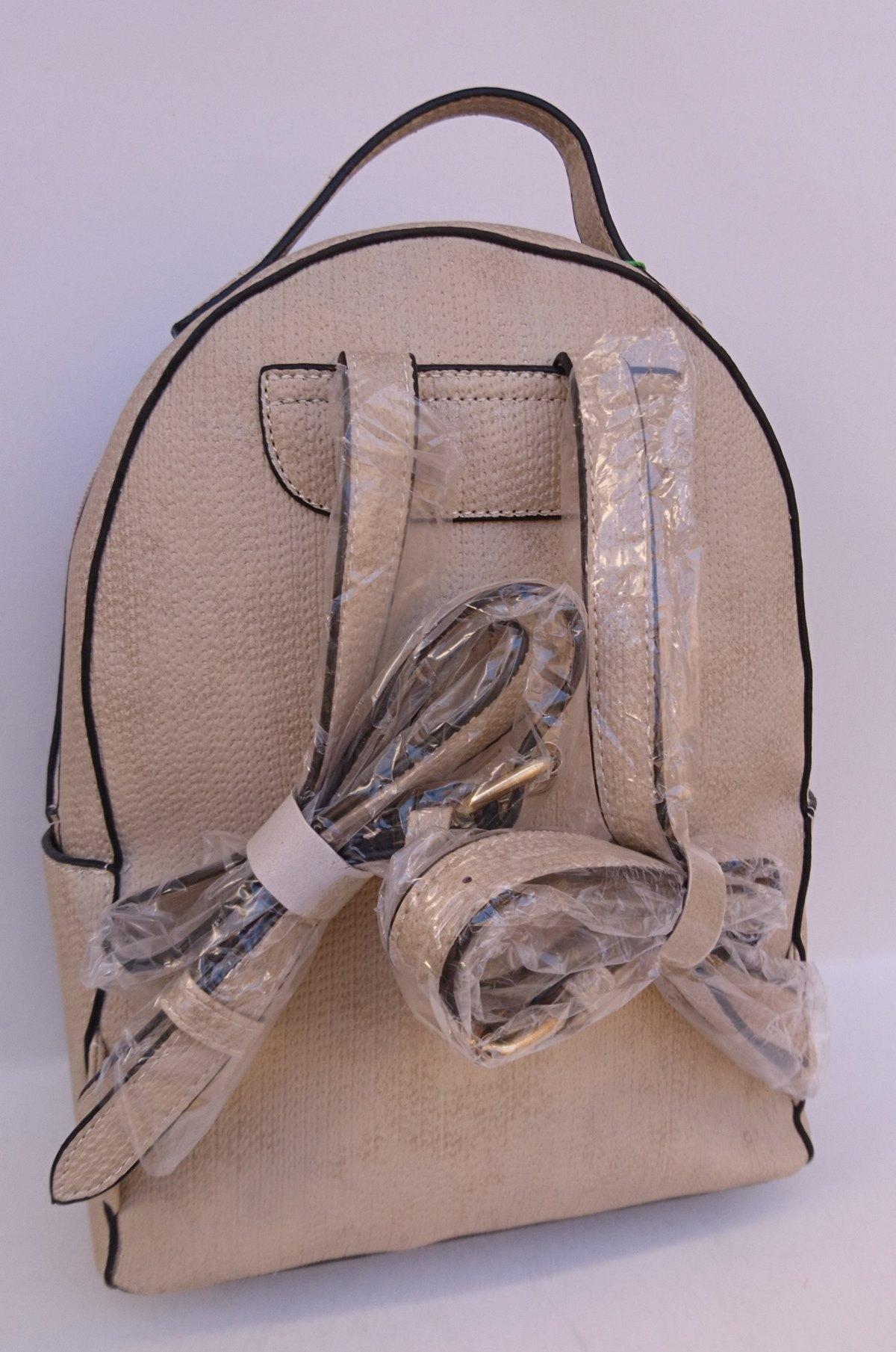 Γυναικείο σακίδιο πλάτης VERDE 16-0005142 μπεζ
