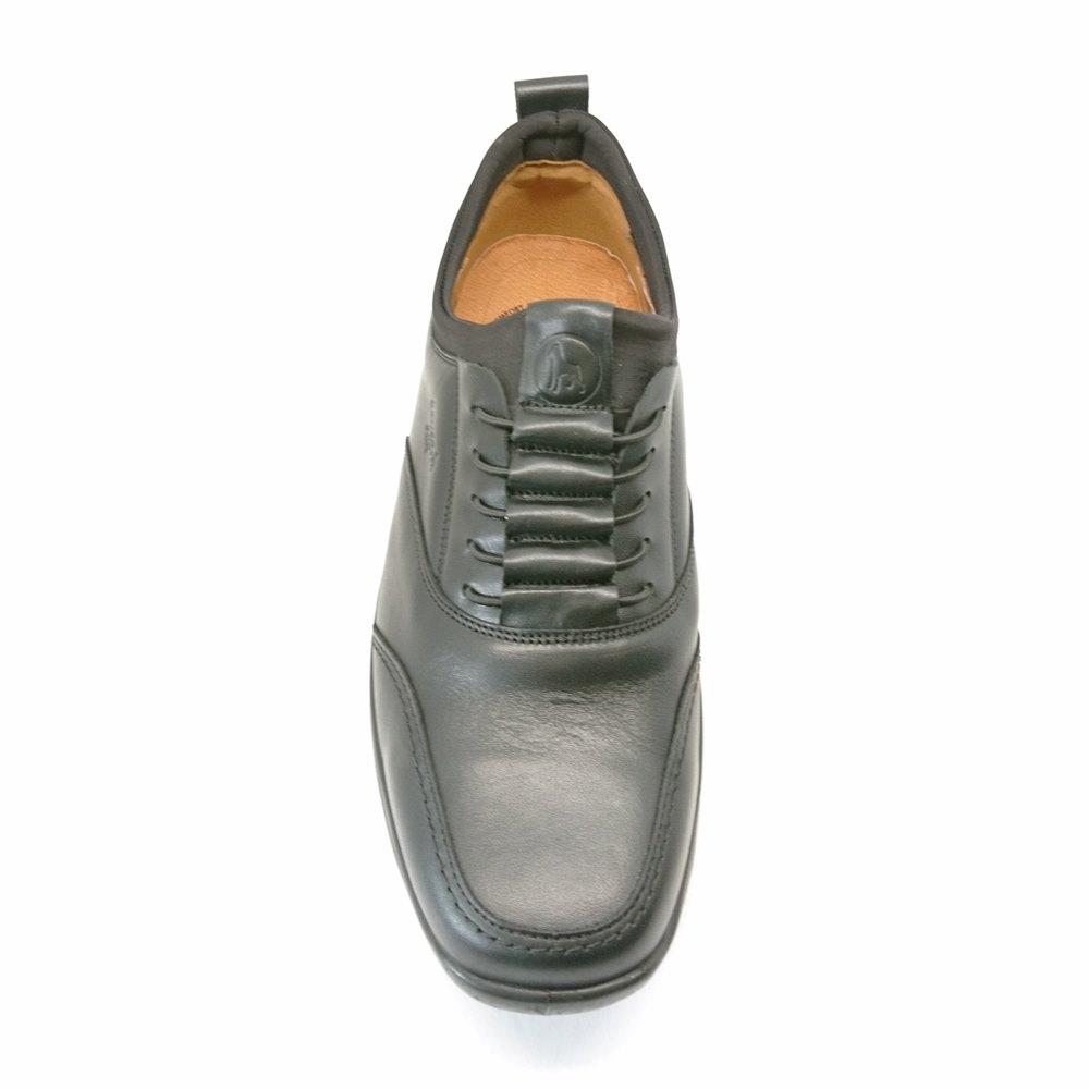 Ανδρικά Casual Δερμάτινα ανατομικά παπούτσια boxer 16125-14-111 Μαύρο