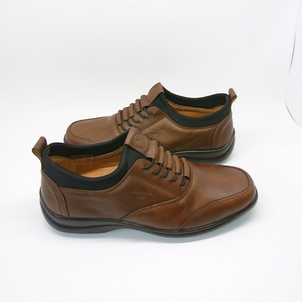 Ανδρικά Casual Δερμάτινα ανατομικά παπούτσια boxer 16125-11-519 Ταμπά