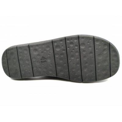 Ανδρικές παντόφλες δωματίου γνήσιο δέρμα BOXER 18014-10-014 καφέ