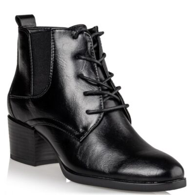 LACE UP BOOTIES Miss NV μποτάκια
