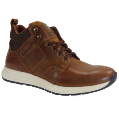 Commanchero Ανδρικά Μποτάκια Αστραγάλου Sneakers 72111-726 Ταμπά Δέρμα