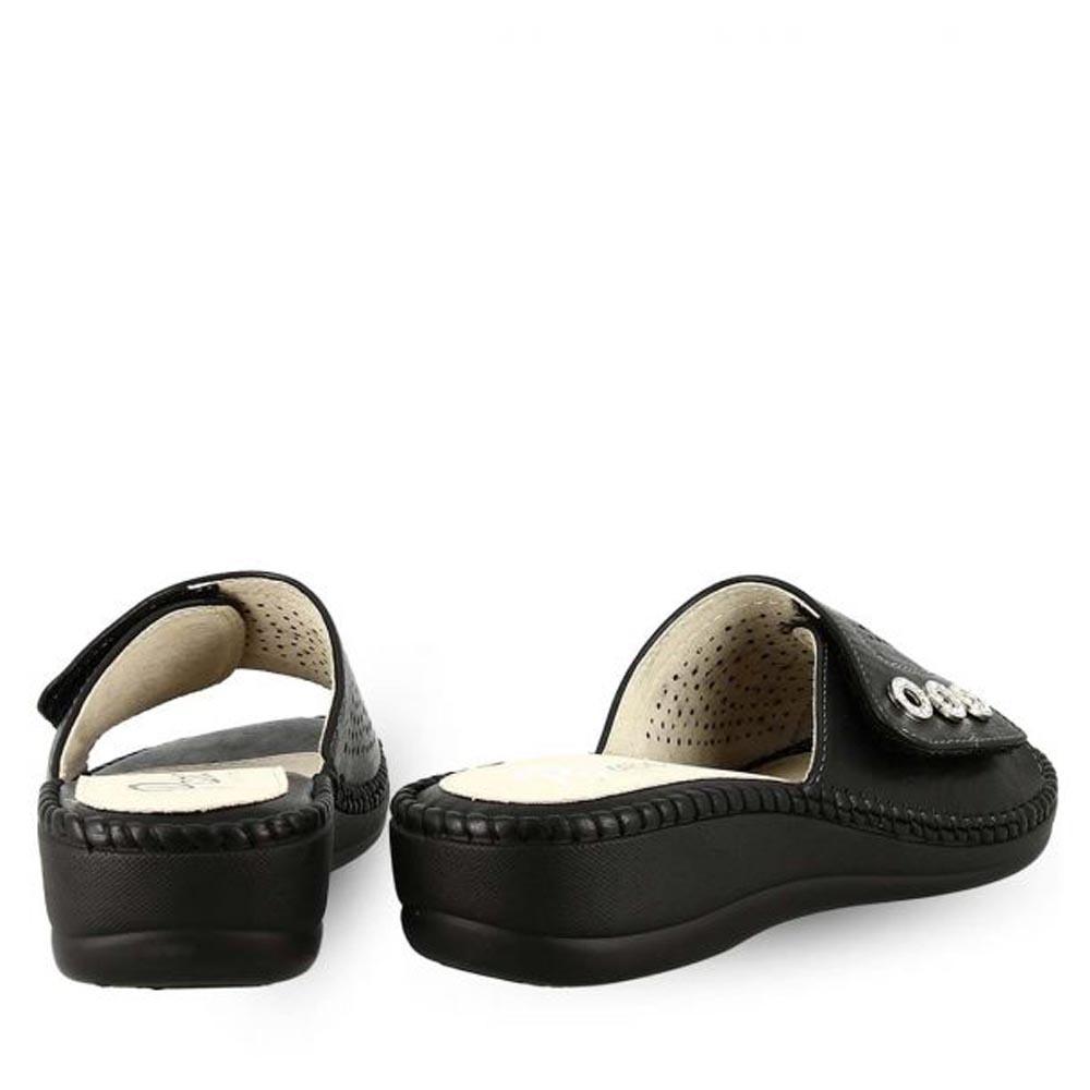 Γυναικείες Παντόφλες Comfort Parex 12119005.B ΜΑΥΡΟ