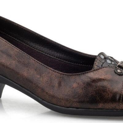 BOXER Shoes 52384 16-514 Καφέ-μπρονζέ. Γνήσιο δέρμα.