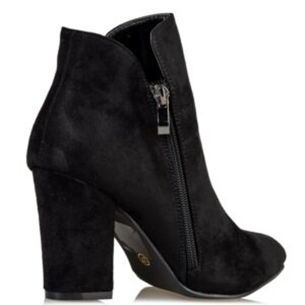 Μποτάκια Miss NV V16-10306 Envie Shoes ΜΑΥΡΟ