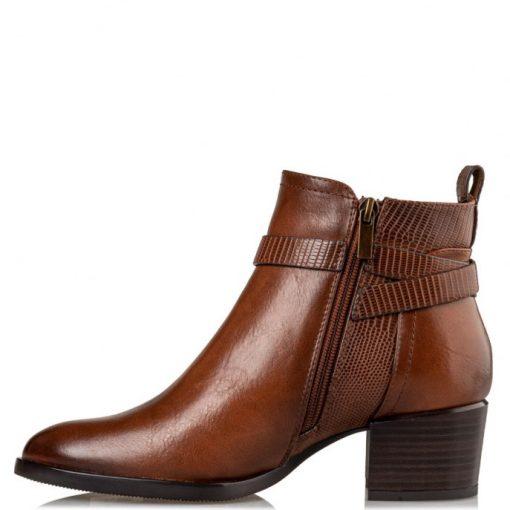 Miss NV Γυναικεία Παπούτσια Μποτάκια V63-12220-26 Κάμελ