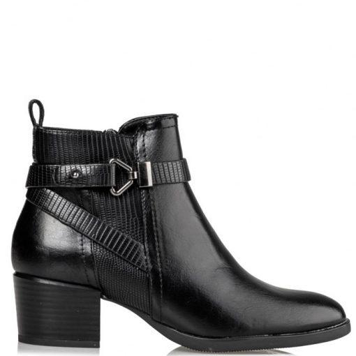 Miss NV Γυναικεία Παπούτσια Μποτάκια V63-12220-34 Μαύρο