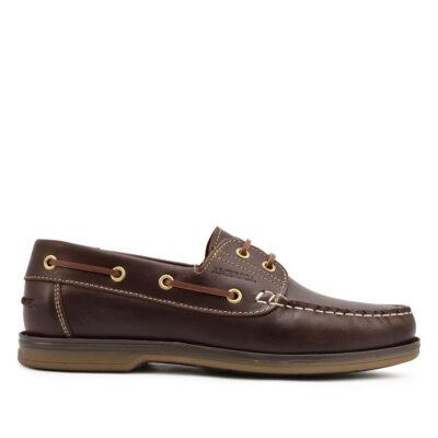 America Ανδρικά Μοκασίνια 060230 Καφέ Leather