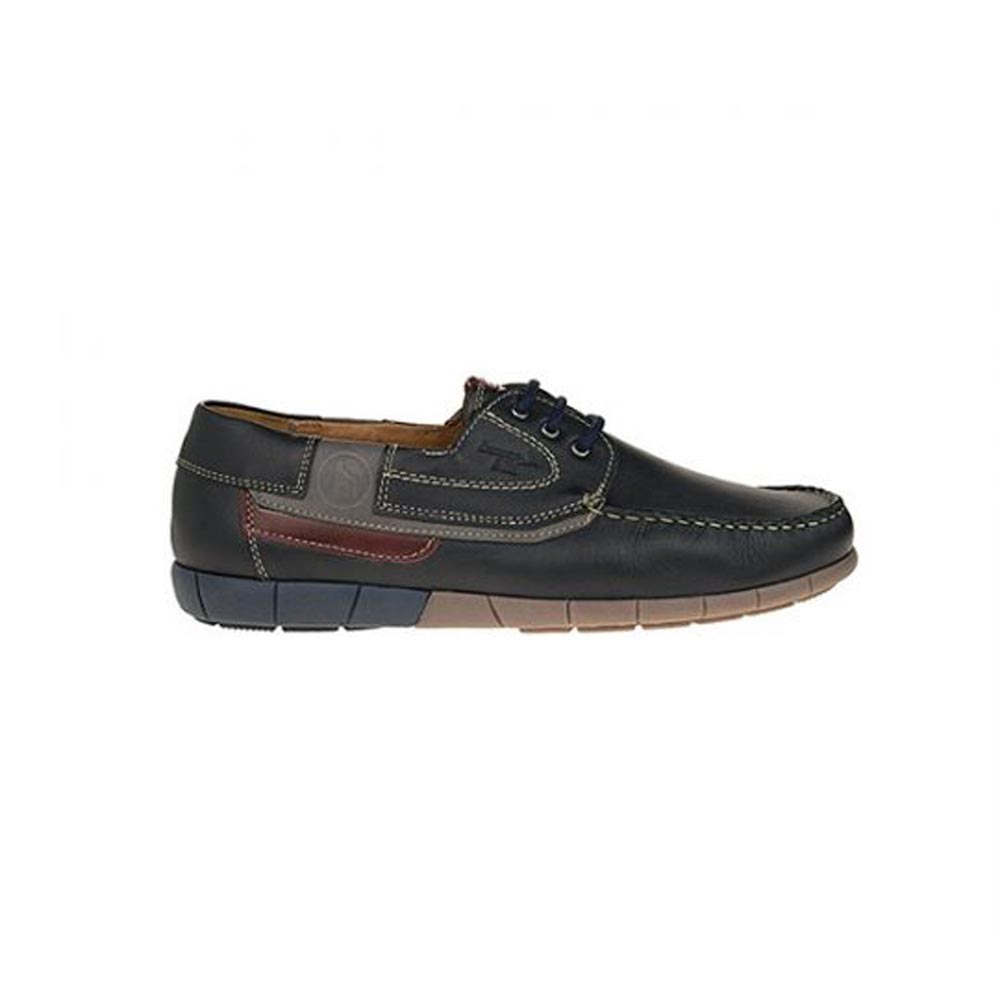 Boxer 21157 Blue Ανδρικό Casual boat δετό
