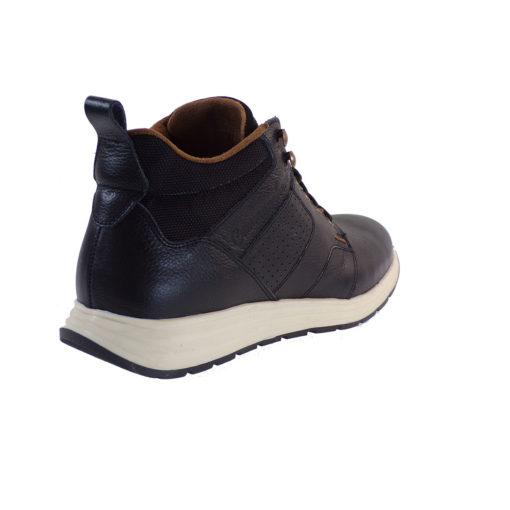 Commanchero Μποτάκια 72111-721 Μαύρο Δέρμα