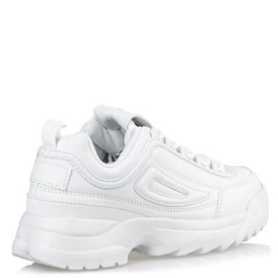 MISS NV Γυναικεία Παπούτσια Sneakers V42-10101-33 ΛΕΥΚΟ