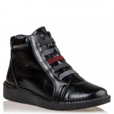Μποτάκια Miss NV V63-10742 Envie Shoes ΜΑΥΡΟ