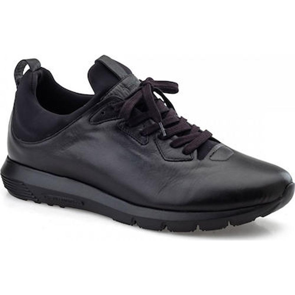 Sneakers BOXER 19003-10-011 Leather Black