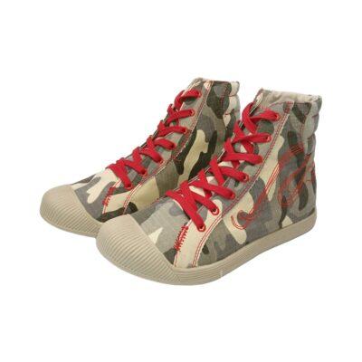 Sneaker πάνινο exe 7987R retro grey