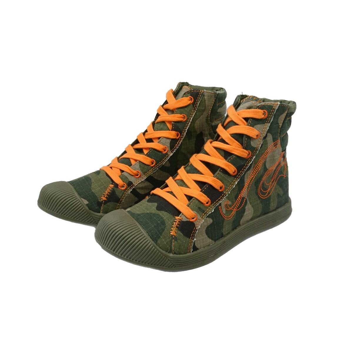 Sneaker πάνινο exe 7987 Khaki