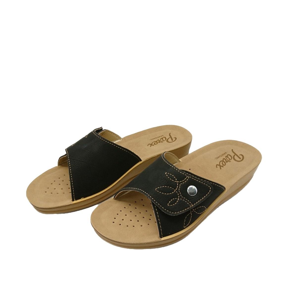 Γυναικείες Παντόφλες Comfort Parex CI 17321.B Μαύρο