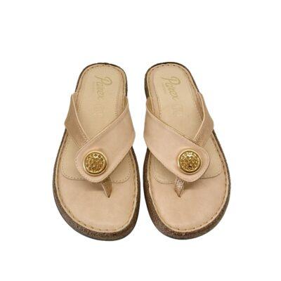 Γυναικείες Σαγιονάρες Comfort Parex 122-19-002 Νούντ.