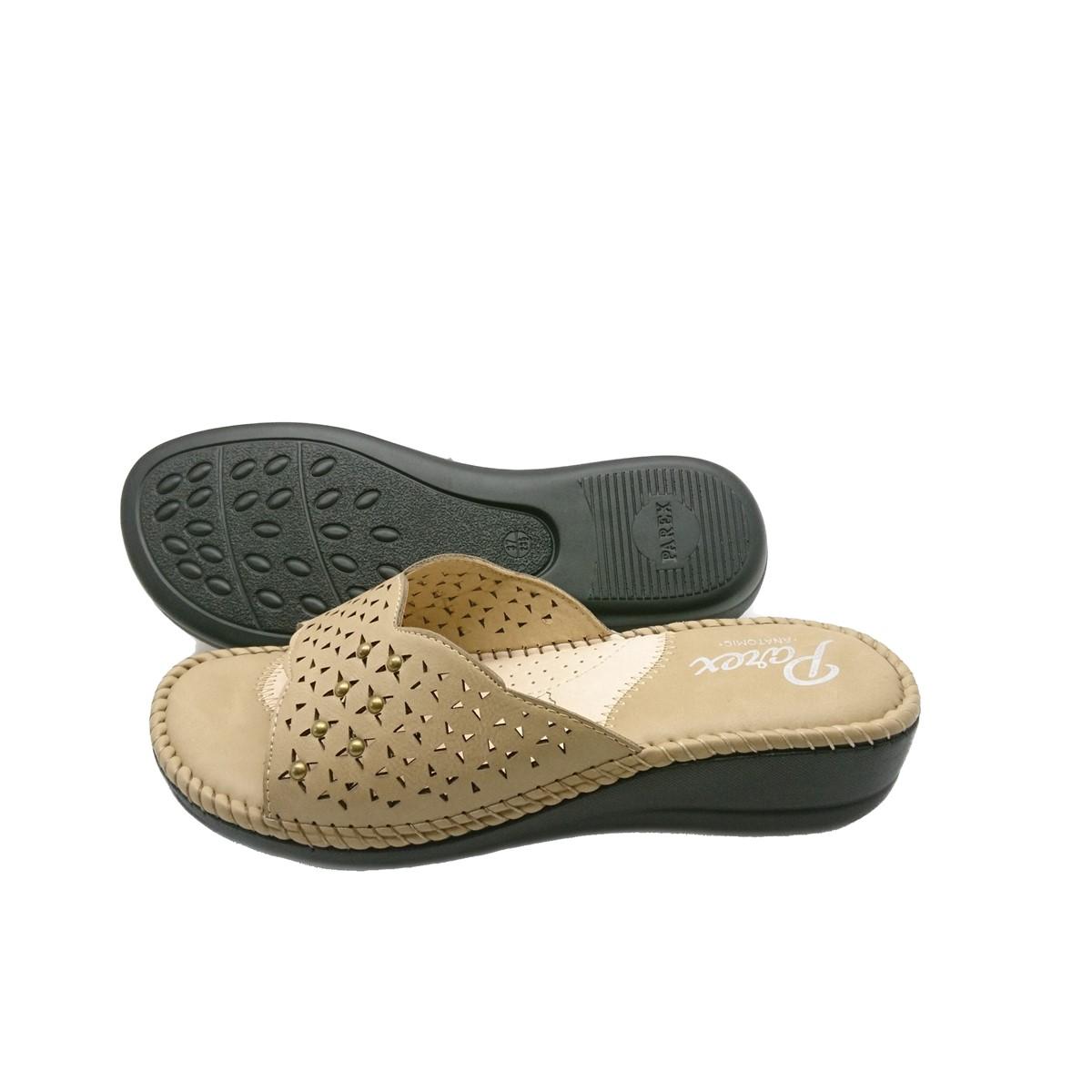Γυναικείες Παντόφλες Comfort Parex YA17036.E Μπέζ