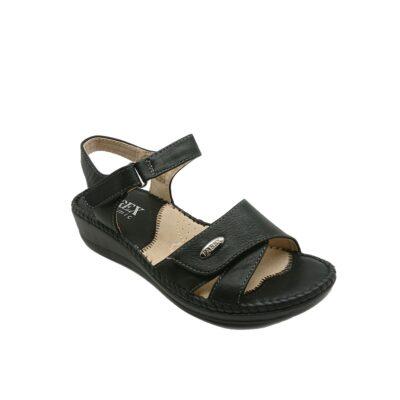 Γυναικεία Comfort Πέδιλα Parex YA 14032.B Μαύρο