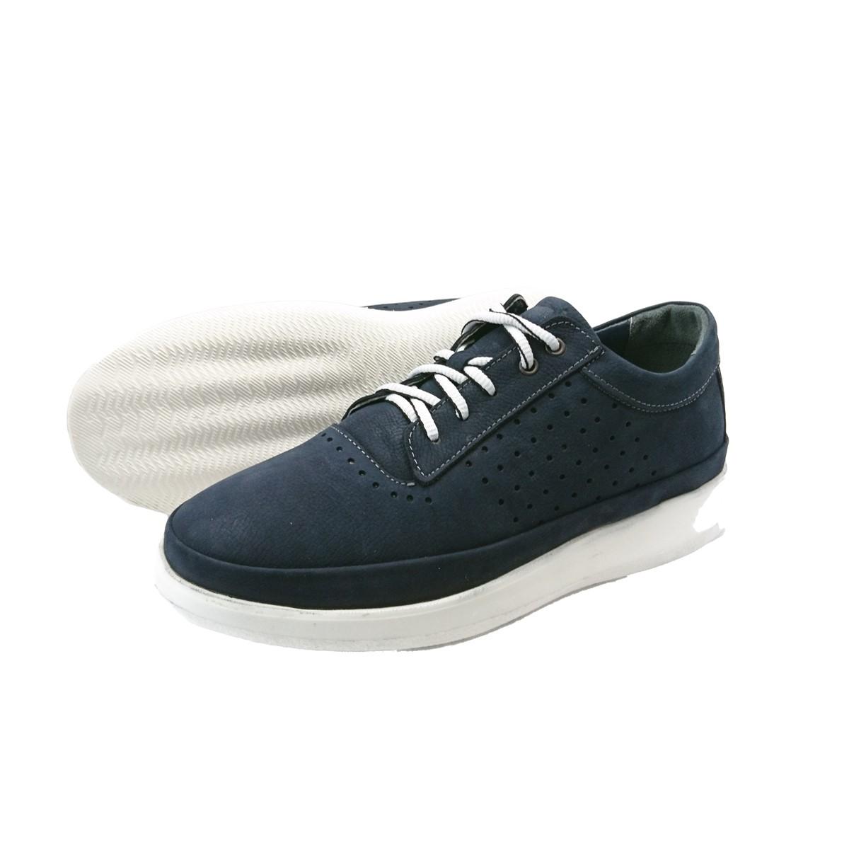 Ανδρικά Sneakers Comfort System Texnology.Boxer 19051 30-016.B Μπλέ Nubuck