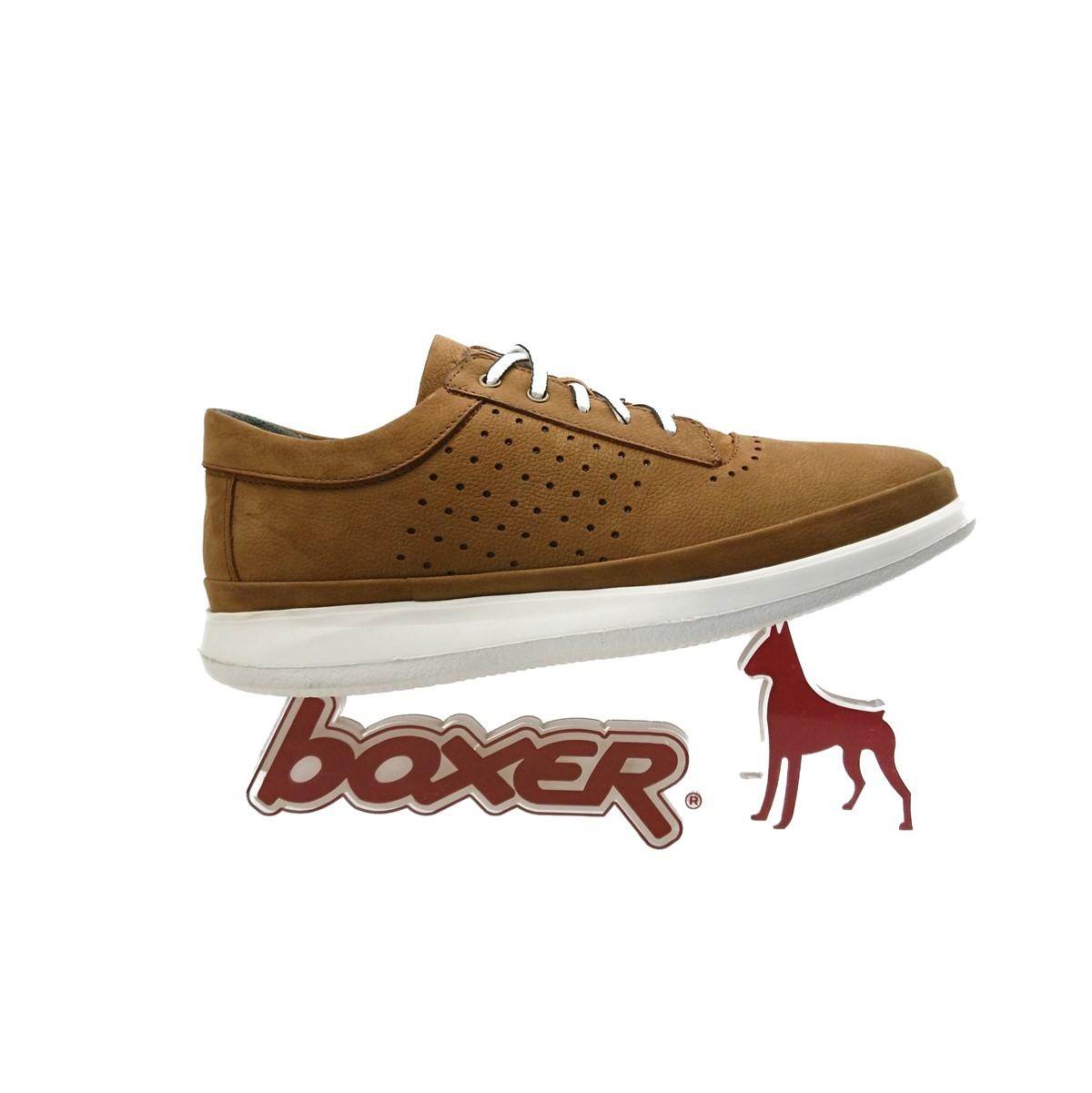 Ανδρικά Sneakers Comfort System Texnology.Boxer 19051 30-019 Ταμπά Nubuck
