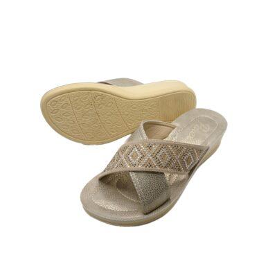 Γυναικείες Παντόφλες Comfort 121-19-014 Parex Μπέζ