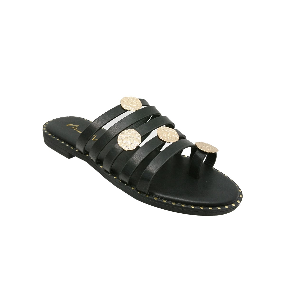 Miss Envie σανδάλια V96-13256.B Μαύρο