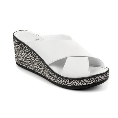 Boxer Sandals 96046 10-001 Πλατφόρμες Λευκό
