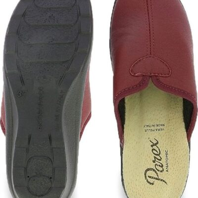 Parex Ανατομικές Γυναικείες Παντόφλες σε Μπορντό Χρώμα 10116133