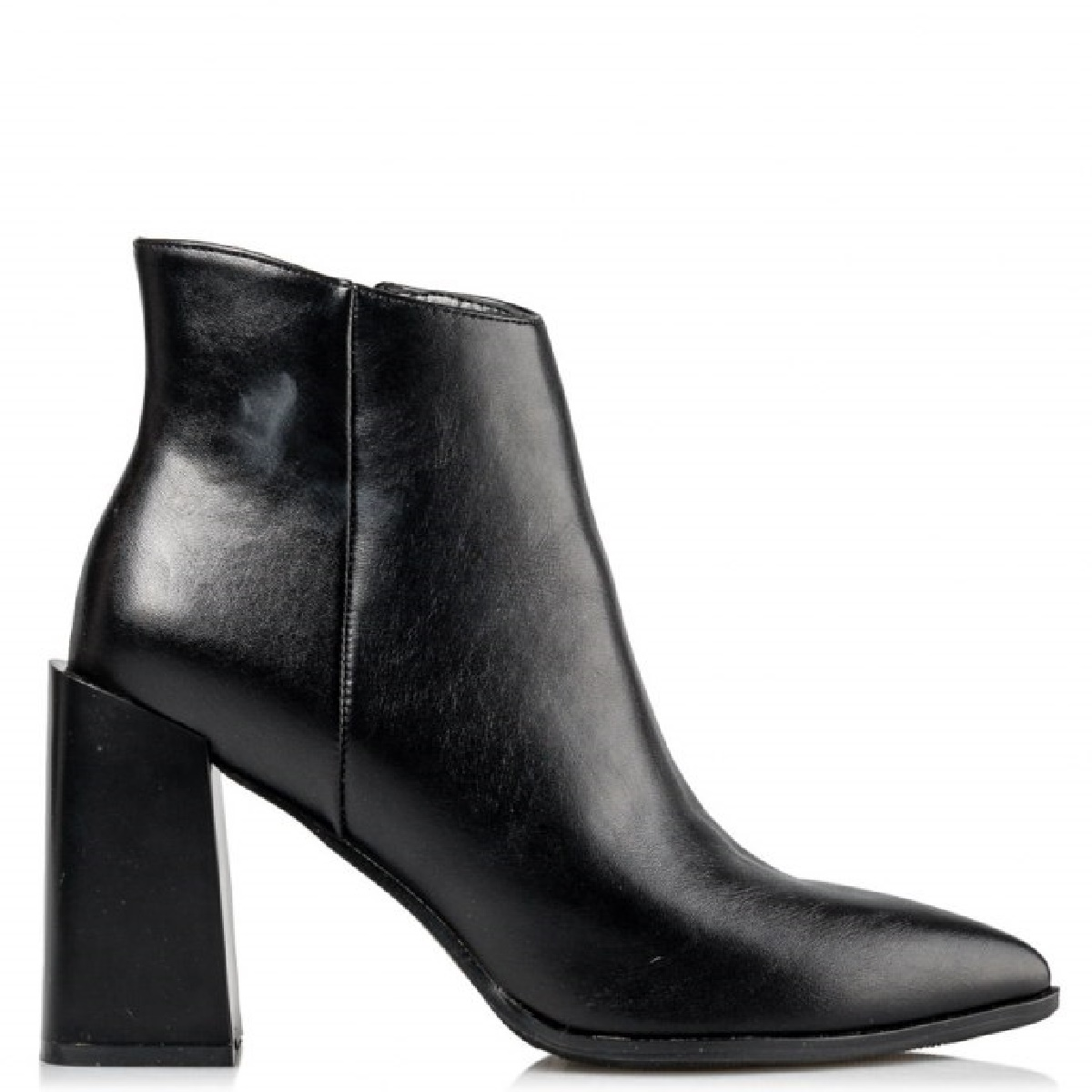 BLOCK HEEL BOOTIES Miss NV μποτάκια V45-14172-34 Μαύρο